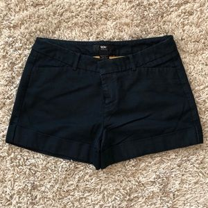 Tailored Chambray Shorts